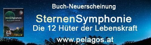 Buchneuerscheinung: SternenSymphonie - Die 12 Hüter der Lebenskraft - www.pelagos.at