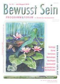 Cover Bewusst Sein, Ausgabe 302 - Jul./Aug. 2014