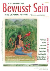 Cover Bewusst Sein, Ausgabe 303 - September 2014