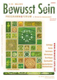 Cover Bewusst Sein, Ausgabe 308 - März 2015