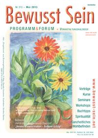 Cover Bewusst Sein, Ausgabe 310 - Mai 2015