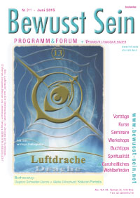 Cover Bewusst Sein, Ausgabe 311 - Juni 2015