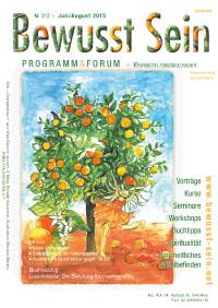 Cover Bewusst Sein, Ausgabe 312 - Juli/August 2015