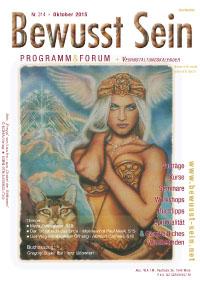 Cover Bewusst Sein, Ausgabe 314 - Oktober 2015