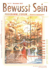 Cover Bewusst Sein, Ausgabe 315 - November 2015