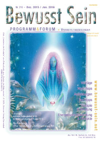Cover Bewusst Sein, Ausgabe 316 - Dez.15/Jan.16