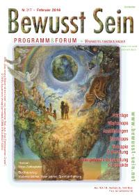 Cover Bewusst Sein, Ausgabe 317 - Februar 2016