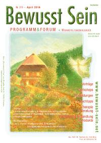 Cover Bewusst Sein, Ausgabe 319 - April 2016