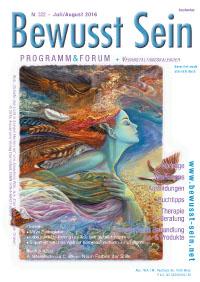 Cover Bewusst Sein, Ausgabe 322 - Juli/August 2016