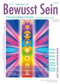 Cover Bewusst Sein, Ausgabe 323 - September 2016
