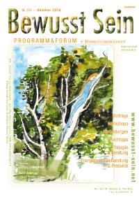 Cover Bewusst Sein, Ausgabe 324 - Oktober 2016
