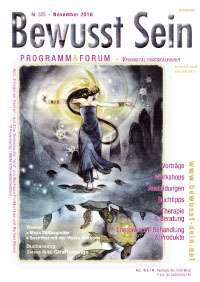 Cover Bewusst Sein, Ausgabe 325 - November 2016