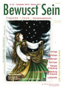 Cover Bewusst Sein, Ausgabe 326 - Dez.16/Jan.17