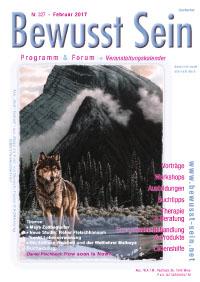 Cover Bewusst Sein, Ausgabe 327 - Februar 2017