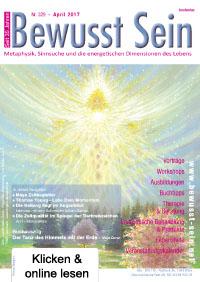 Cover Bewusst Sein, Ausgabe 329 - April 2017