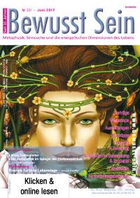 Cover Bewusst Sein, Ausgabe 331 - Juni 2017