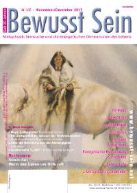 Cover Bewusst Sein, Ausgabe 335 - November/Dezember 2017