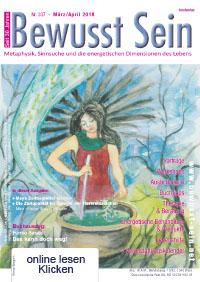 Cover Bewusst Sein, Ausgabe 337 - März/April 2018