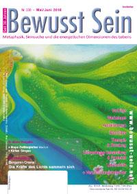 Cover Bewusst Sein, Ausgabe 338 - Mai/Juni 2018