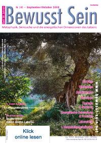 Cover Bewusst Sein, Ausgabe 340 - September/Oktober 2018