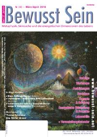 Cover Bewusst Sein, Ausgabe 343 - März/April 2019