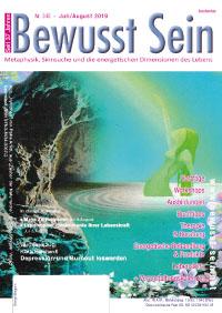 Cover Bewusst Sein, Ausgabe 345 - Juli/August 2019