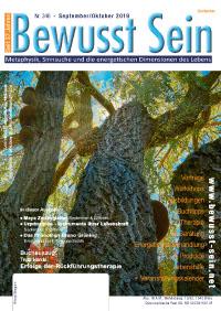 Cover Bewusst Sein, Ausgabe 346 - September/Oktober 2019