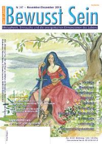 Cover Bewusst Sein, Ausgabe 347 - November/Dezember 2019