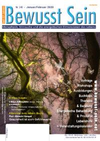 Cover Bewusst Sein, Ausgabe 348 - Januar/Februar 2019