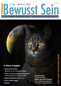 Cover Bewusst Sein, Ausgabe 350 - Mai/Juni 2020