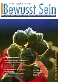 Cover Bewusst Sein, Ausgabe 351 - Juli/August 2020