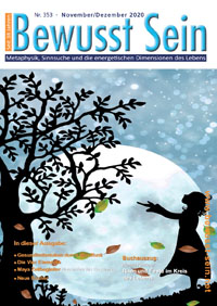 Cover Bewusst Sein, Ausgabe 353 - November/Dezember 2020