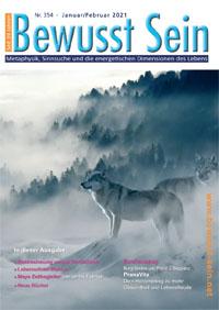 Cover Bewusst Sein, Ausgabe 354 - Januar/Februar 2021