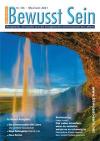 Cover Bewusst Sein, Ausgabe 356 - Mai/Juni 2021