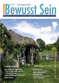 Cover Bewusst Sein, Ausgabe 357 - Juli/August 2021