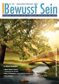 Cover Bewusst Sein, Ausgabe 358 - September/Oktober 2021